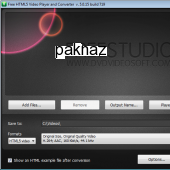 Free HTML5 Video Player and Converter 5.0.29.925 screenshot