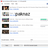 Free YouTube to DVD Converter 3.1.3.610 screenshot