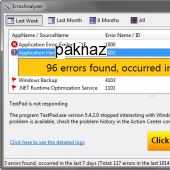 Error Analyzer 2.0 screenshot
