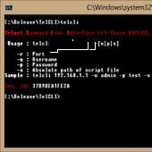 TelCLI 1.0.1 screenshot