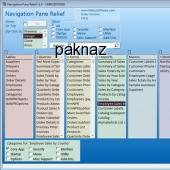 Navigation Pane Relief 2.0 screenshot