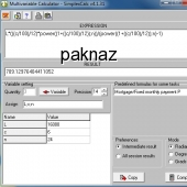 SimplexCalc 4.1.8 screenshot