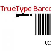 TrueType Barcode Fonts for Windows 13.09 screenshot