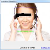 Luxand FaceSDK 5.0 screenshot
