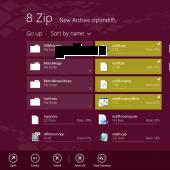 8 Zip 2.0.0.54 screenshot