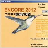 ENCORE Clinic Software 9.5.0 screenshot