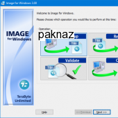 Image for Windows with IFD CUI 2.83 screenshot