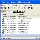 Advanced Direct Remailer 2.42 screenshot