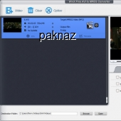 WinX Free AVI to MPEG Converter 4.0.14 screenshot