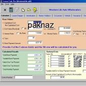 Lease Calc Pro 3.00 screenshot