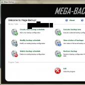 Mega-Backup 1.0 screenshot