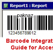 Barcode Integration Guide for Access 2008 screenshot