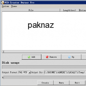 VCD Creator Burner Pro 2.0.1 screenshot