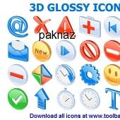 3D Glossy Icons 2013.1 screenshot